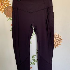 LuLuLemon High Waisted Crops